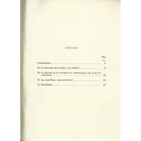 Liberalismo y democracia por Benjamin Constant