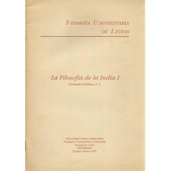 La filosofía de la India I