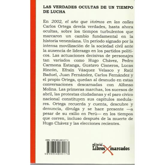 2002 el año que vivimos en las calles (Venezuela)
