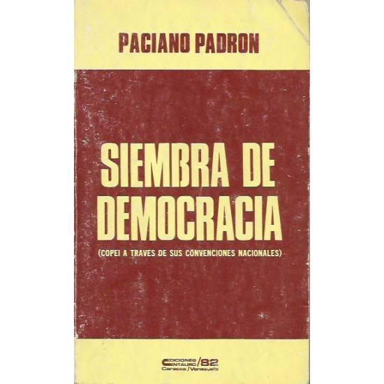 Siembra de democracia COPEI