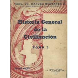 Historia General de la Civilización (3 tomos) Manuel Montaner