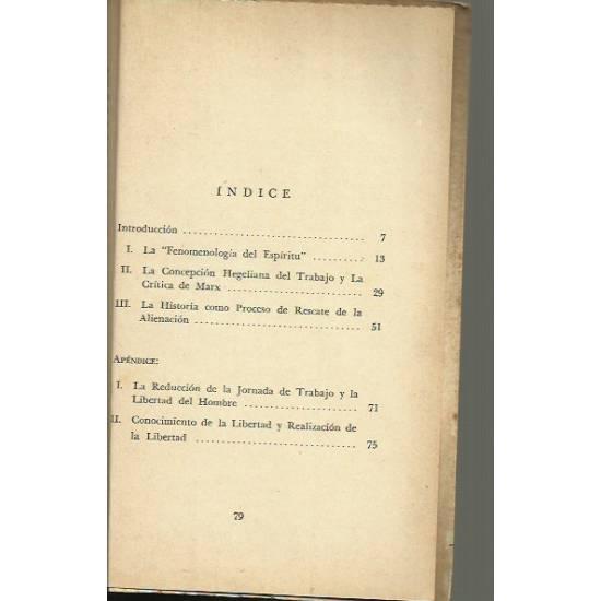 Marx y Hegel