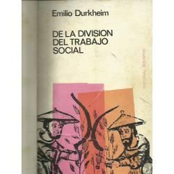 De la division del trabajo social