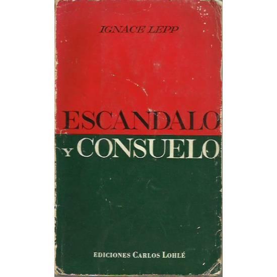 Escándalo y consuelo