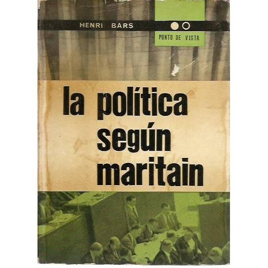 La politica según Maritain