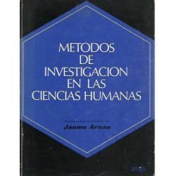 Métodos de investigacion en las ciencias humanas