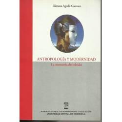 Antropologia y modernidad
