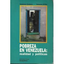 Pobreza en Venezuela Realidad y políticas