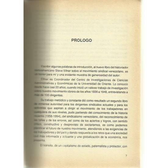 El sindicalismo en Venezuela en el contexto democrático (1958-1994)