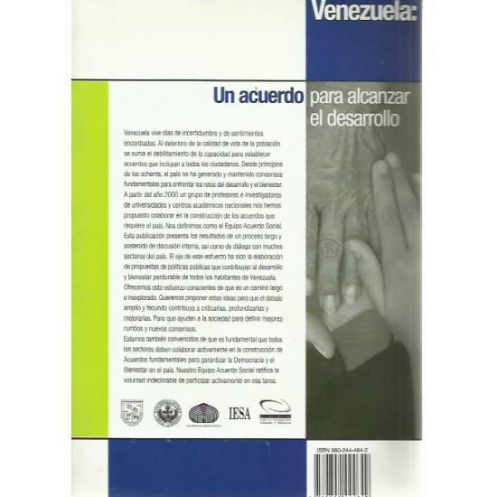 Venezuela Un acuerdo para alcanzar el desarrollo