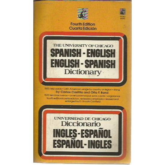 The University of Chicago Spanish-English English-Spanish Dictionary