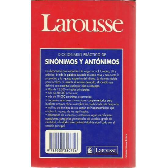 Diccionario práctico de sinónimos y antónimos