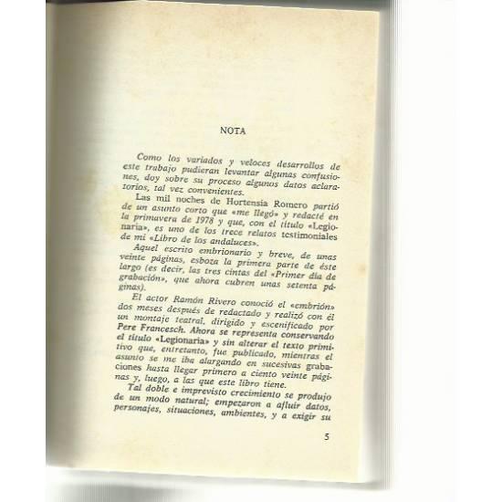 Las mil noches de Hortensia Romero (novela)