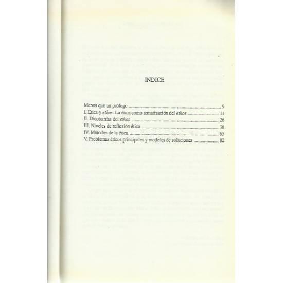 Etica Conceptos y problemas