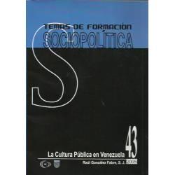 La cultura pública en Venezuela