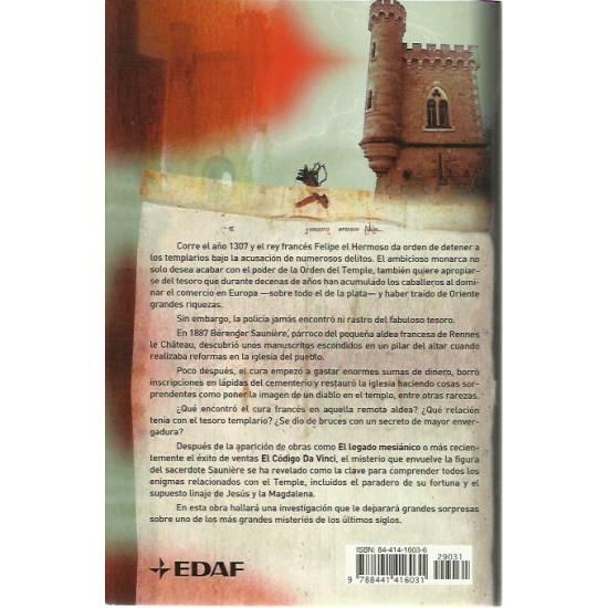El secreto Rennes le Chateau y el misterio del tesoro de los templarios