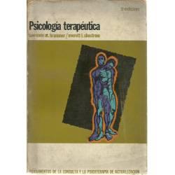 Psicología terapéutica