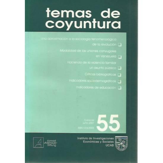 Temas de coyuntura n. 55