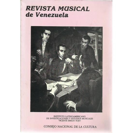 Revista Musical de Venezuela año 2 n 3