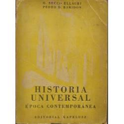 Historia universal Epoca contemporanea