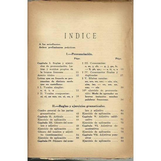 Método intuitivo de Lengua francesa hablada