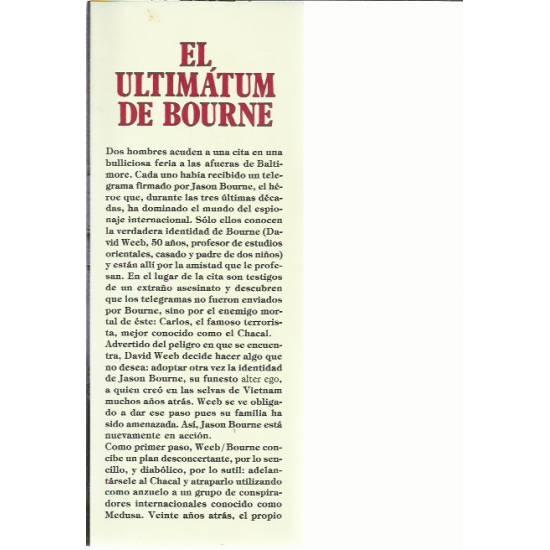 El ultimatum de Bourne (novela)