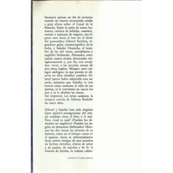 Los versos satánicos (novela)