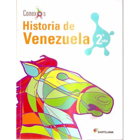 Historia de Venezuela 2 año Santillana