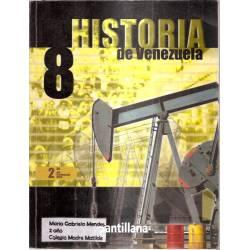Historia de Venezuela 8 Santillana