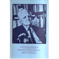 Antología poética Fernando Paz Castillo