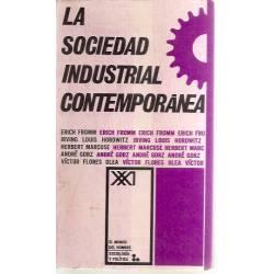 La sociedad industrial contemporánea