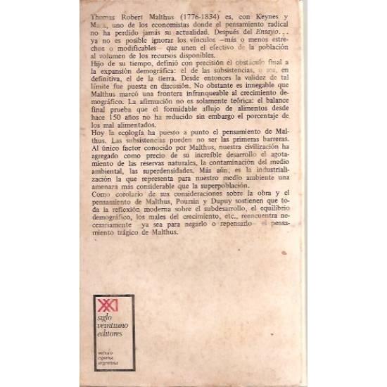 Malthus (Biografía)