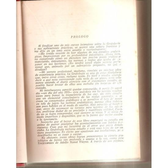 Enciclopedia de la Grafología