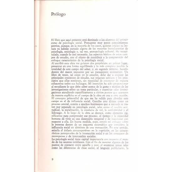 Principios y métodos de psicología social