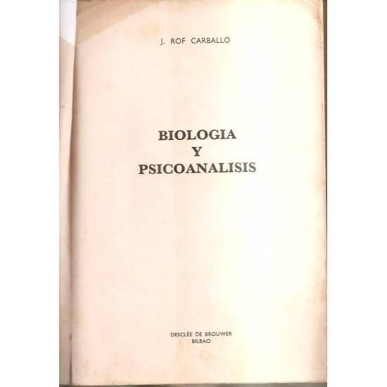 Biología y psicoanálisis