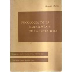 Psicología de la democracia y de la dictadura
