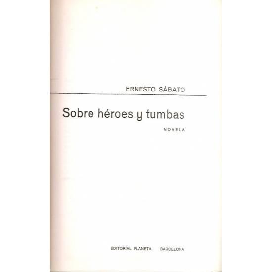 Sobre héroes y tumbas (novela)