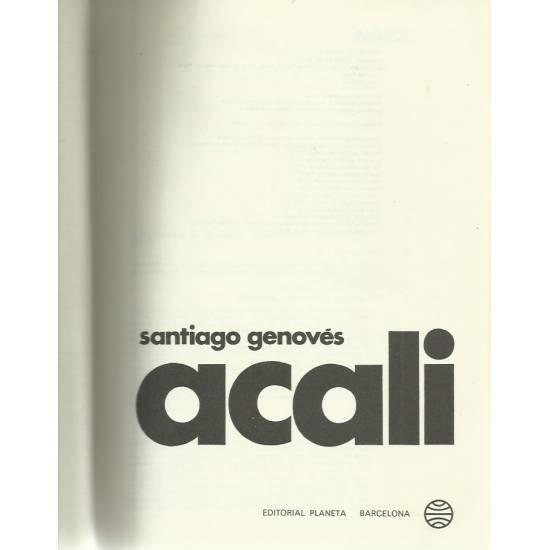 Acali Santiago Genovés