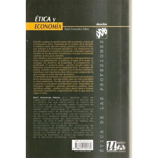 Etica y economía