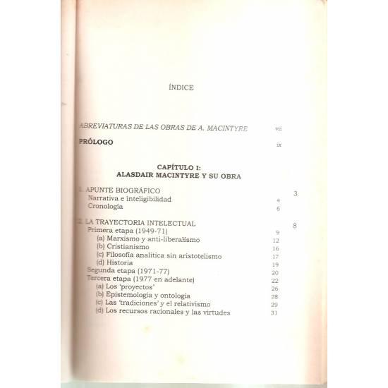 Alasdair MacIntyre Etica contextualizada