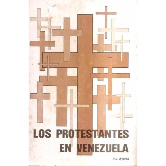 Los protestantes en Venezuela