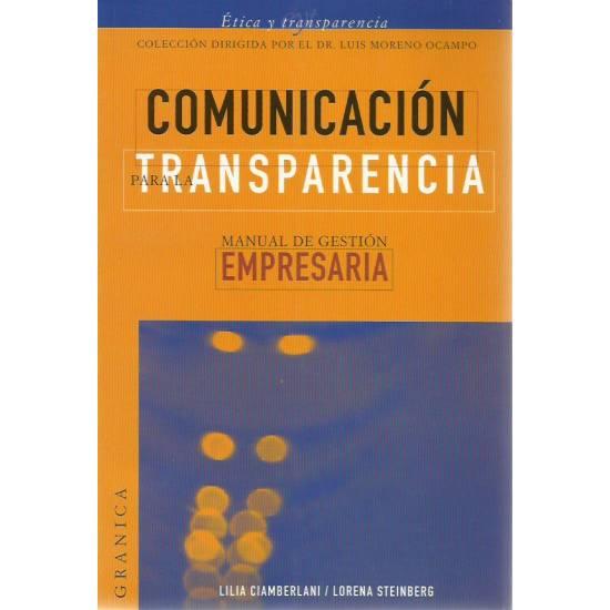 Comunicación para la transparencia
