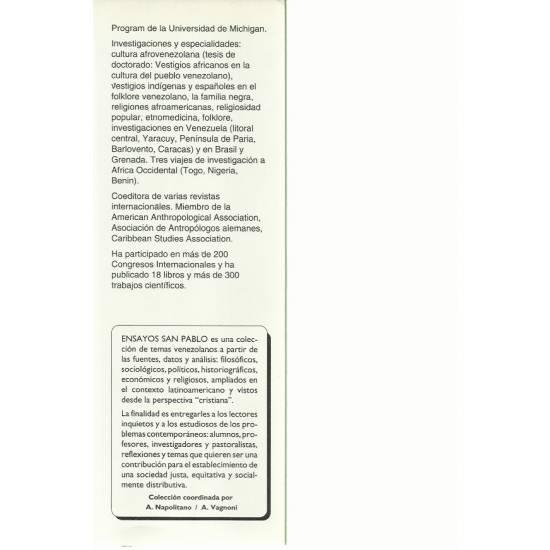 La religiosidad popular en Venezuela