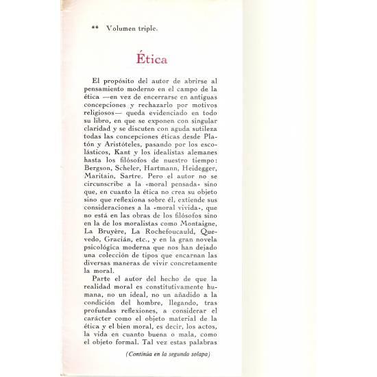 Etica Jose Luis Aranguren