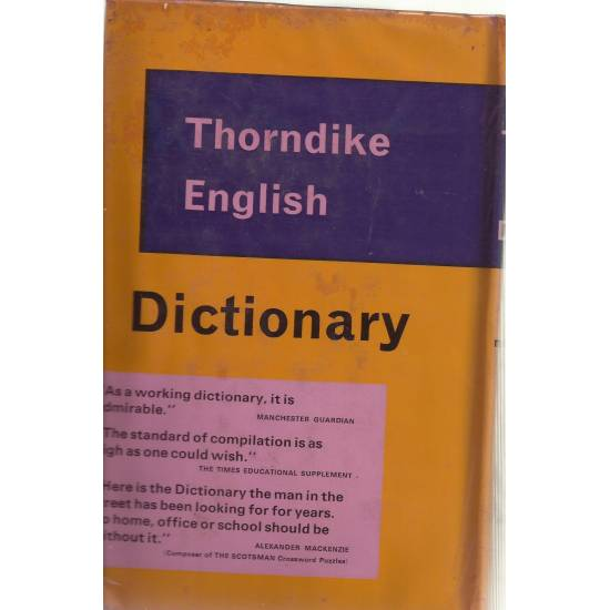 Thorndike English Dictionary