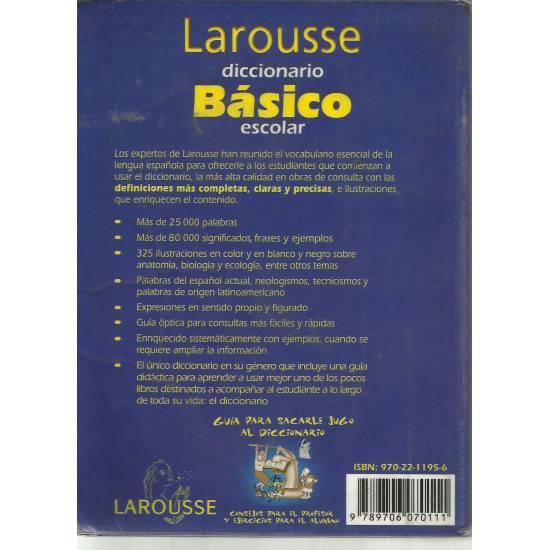 Larousse Diccionario Básico Escolar