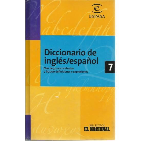 Diccionario de Inglés/ Español Espasa