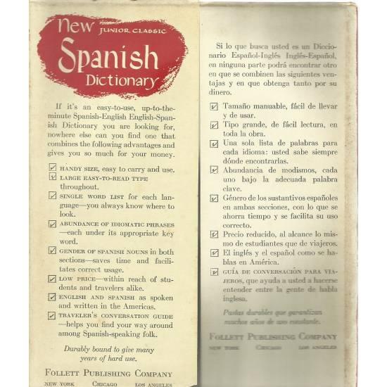 New Junior Classic Spanish Dictionary