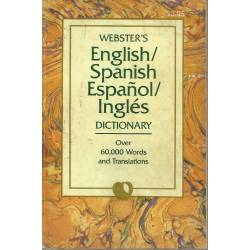 Websters English/Spanish Español/Inglés Dictionary