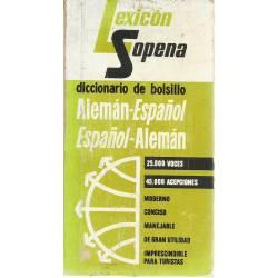 Diccionario de bolsillo alemán-español